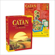 Amazon.com: Catan Extensión, 5-6 jugadores, 5ta ...
