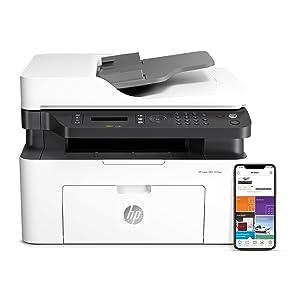 HP Laser MFP 137fwg - Impresora láser multifunción (imprime, copia ...
