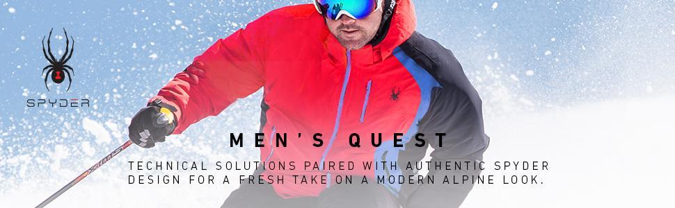 657fc02726 Amazon.com   Spyder Men s Gstaad Ski Jacket   Clothing