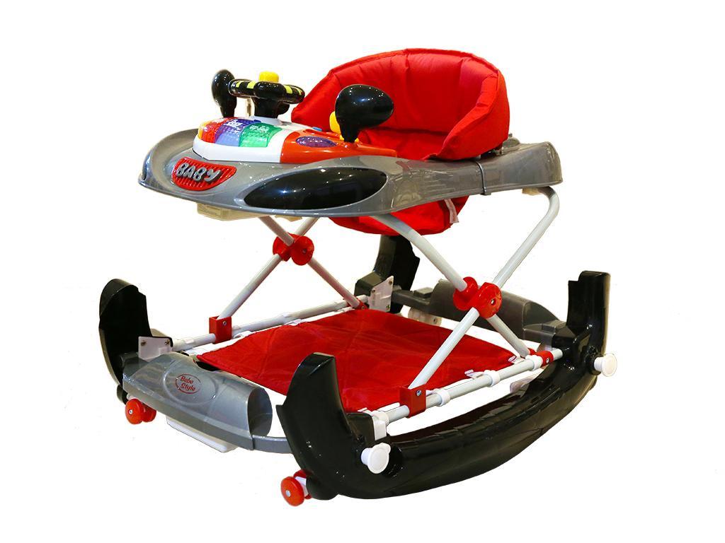 F Racing Car Baby Walker