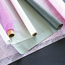 ラッピングペーパー 不織布 テーブルクロス カットクロス 布 和紙 花束 包装紙 使い捨て ゲスト ホスト 色 揃える 気楽 飾り付け インテリア
