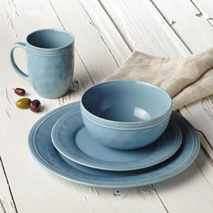 Perfect for Every Day Use or Entertaining & Amazon.com: Rachael Ray Cucina 16-Piece Stoneware Dinnerware Set ...