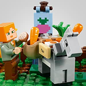 be447e4f0648 Amazon.com: LEGO Minecraft The Farm Cottage 21144 Building Kit (549 ...
