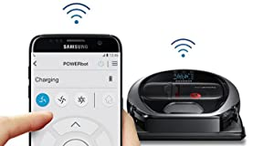 Samsung POWERbot R7090 Robot Vacuum wi-fi connectivity