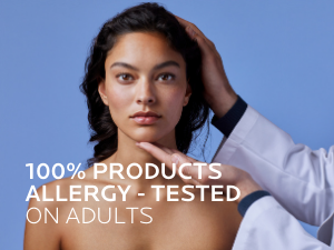 Allergy-tested on adults