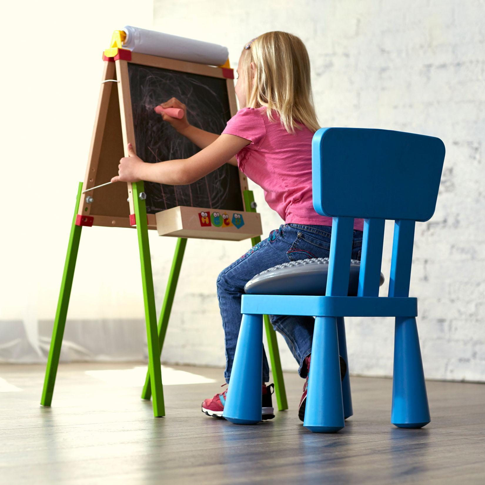 Gaiam Balance Ball Chair Inflation: Buy Gaiam Kids Balance Cushion, Inflatable Wobble Disk