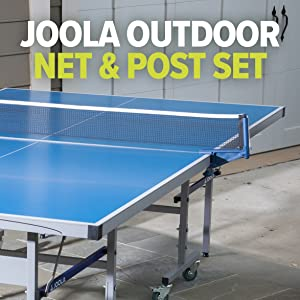 JOOLA NOVA - Outdoor Table Tennis Table with Waterproof Net Set