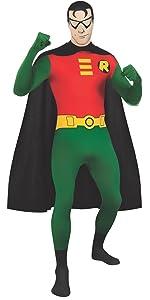 robin costume, robin bodysuit