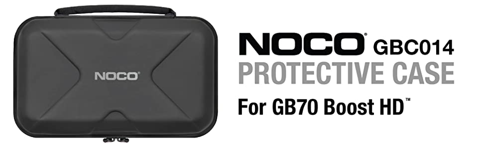 Noco EVA Protective Case for Jump Starter GB70 Boost HD  with Accessory Pockets