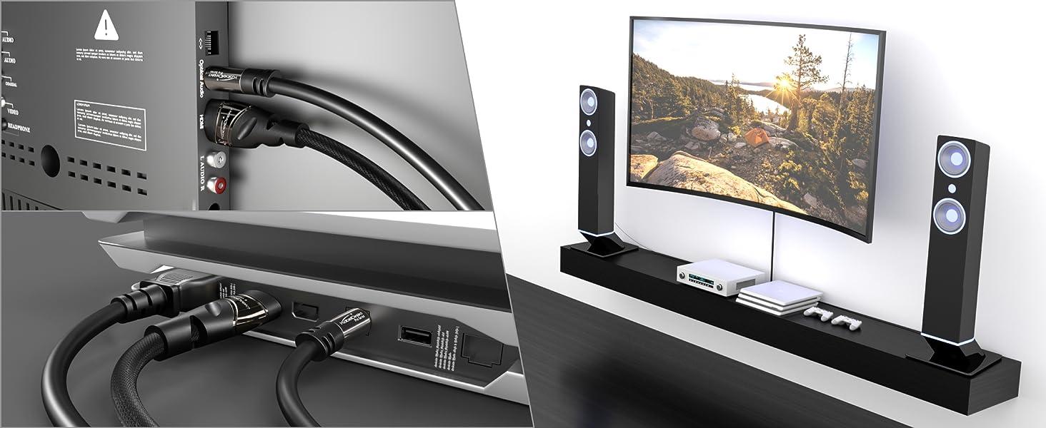 Kabeldirekt Optisches Digitalkabel Toslink 05m Fuse Xbox 360 Amazon Kabel Audiokabel Optisch