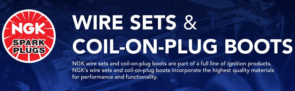 NGK 9160 Spark Plug Wire Set