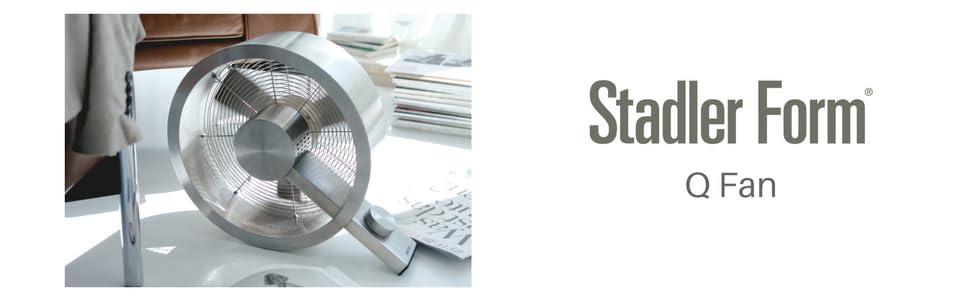 Amazon Com Stadler Form Q Fan Metal Home Amp Kitchen