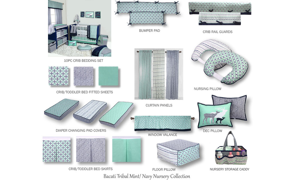 100/% COTTON Cot Bed Duvet Cover Set Girls Boys Grey Chevron Stars Aqua reversibl