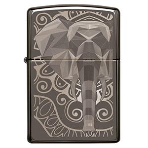 elephant, gray, fancy fill, fancy fill lighter, black, blaack ice, animal, safari animal, low poly