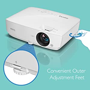 Adjustable Feet; Convenient; Home Theater; MH535FHD