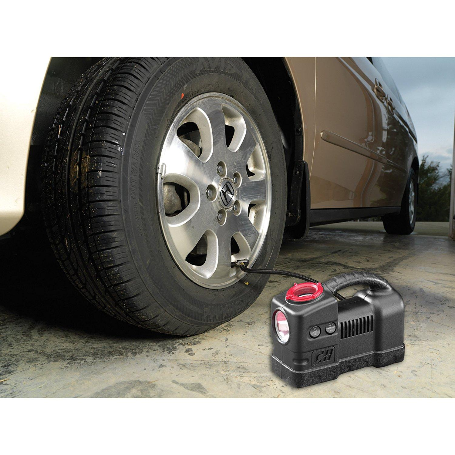 Amazon.com: 12 Volt Inflator With Light, 120 PSI Portable