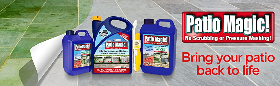 Patio Magic! - Bring Your Patio Back To Life
