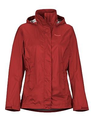 Marmot Girls Precip Eco Hardshell Rain Jacket Raincoat Windproof Waterproof Breathable