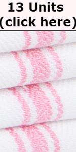 Pink Dish Towels