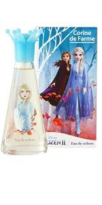 parfum reine des neiges, parfum fille, parfum enfant, parfum elsa