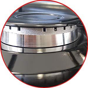 MPM Smile-KN/Cocina de Gas Portátil, Adultos Unisex
