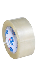 T902400 Tape Logic Clear Acrylic Industrial Carton Sealing Tape, Packing Tape