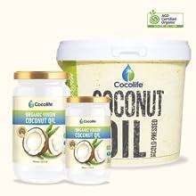 Cocolife organic coconut oil