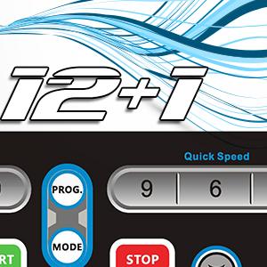 Sportstech F26 tapis roulant professionale con controllo di Smartphone App e cintura di impulsone