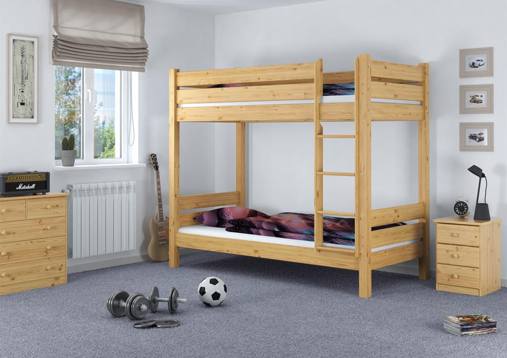Etagenbett Metall 80x200 : Erst holz etagenbett extra stabil stockbett hohes bett