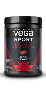 vega hydrator electrolyte plant based healthy gluten free