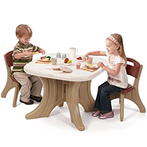 All Purpose Kids Table U0026 Chairs Set. Great For Arts And Crafts, Pretend  Play, Or Dining