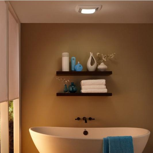 Broan Very Quiet Ventilation Fan And Light Combo For Bathroom And Home  Energy Star Certified