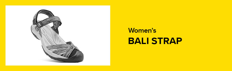 womens bali strap closed toe water sandal hero