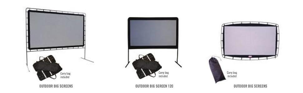 amazoncom camp chef 120inch portable outdoor movie