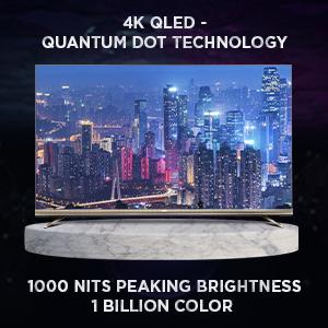 4K QLED, Pixelium Glass, Quantum Dot