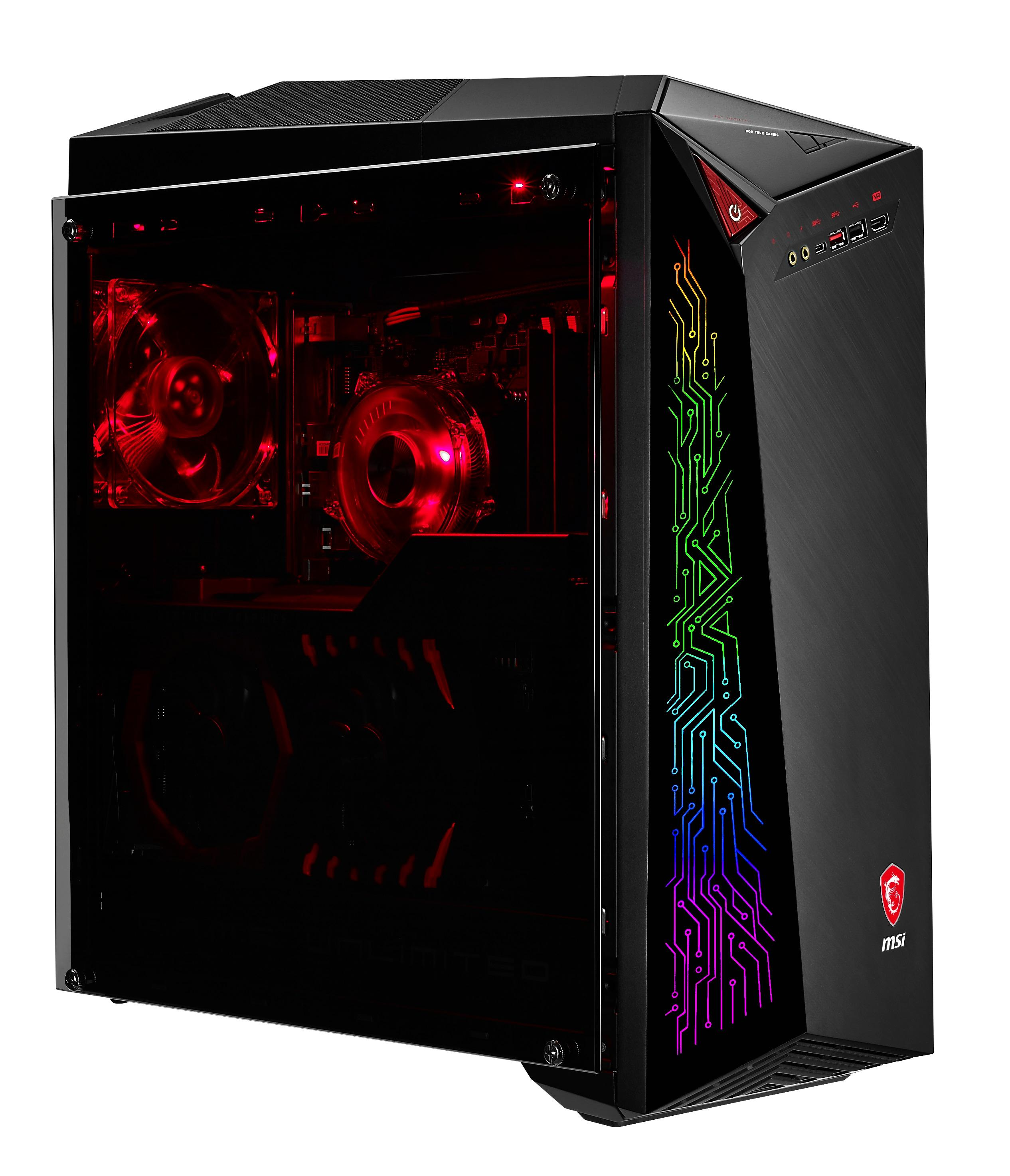 msi infinite a vr7re 020us vr ready gaming desktop i7 7700 gtx 1080 16gb 256gb ssd 2tb hdd. Black Bedroom Furniture Sets. Home Design Ideas