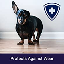 Protect your hardwood floor, protect finish, against scratches