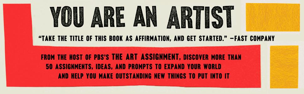 You Are An Artist, artist books, prompt books, Sarah Urist Green
