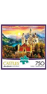 Castle Dream - 750 Piece Jigsaw Puzzle