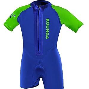 kounga de 1.5 traje de neopreno corto para niño: Amazon.es: Ropa y ...