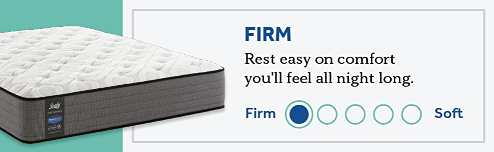 Sealy Response Performance 11-Inch Firm Tight Top Mattress