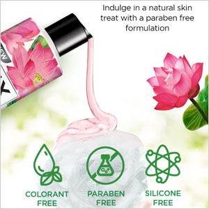 colorant free, paraben free, silicone free