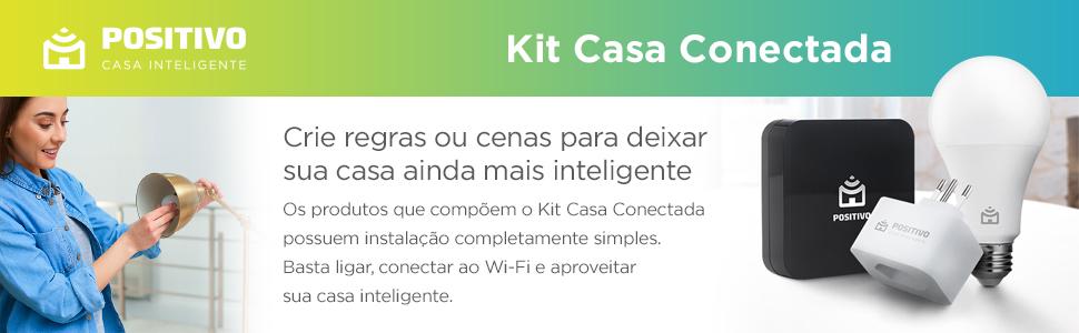 Positivo Casa inteligente IOT Kit casa conectada