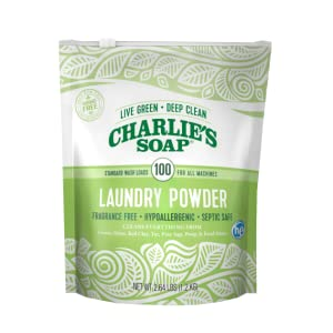 natural green laundry detergent