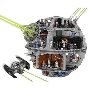 Lego Star Wars Death Star Carga y dispara los cañones automáticos del turboláser