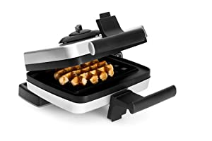 Croquade M006 Individual Waffle Plate for Heart Waffles Black