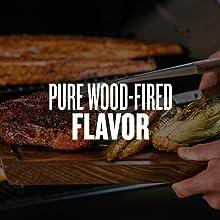 wood pellets smoke smoker