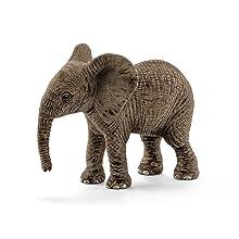 african elephant calf, african elephant, elephant, elephant figurine,schleich animal,animal figurine