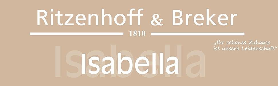 ritzenhoff breker tafelservice isabella 12 teilig fine china porzellangeschirr wei mit. Black Bedroom Furniture Sets. Home Design Ideas