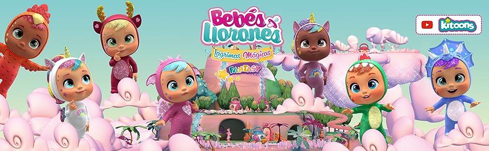 IMC Toys- Bebés Llorones Lágrimas Mágicas, Bibe Casita - Chupete (97971)